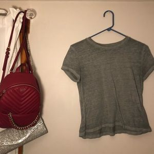 Abercrombie & Fitch Tops - Grey t shirt